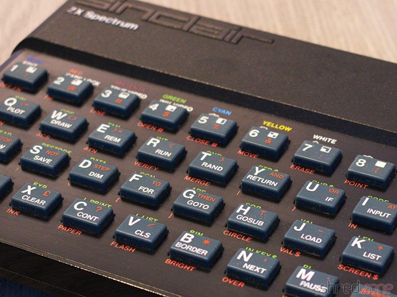 ZX Spectrum retro game programming - Shredzone