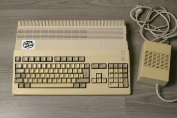 My Amiga 500 before restauration.